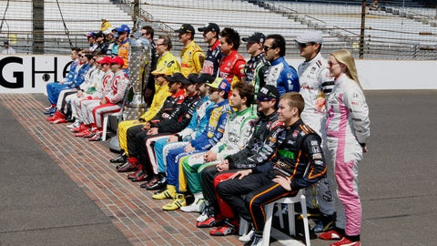 2014 Indy 500 grid starting lineup