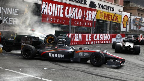 Photos: Formula 1 Mona-carnage