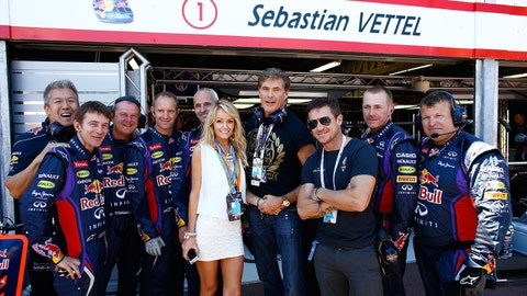 Celebrity sightings at the F1 Monaco GP
