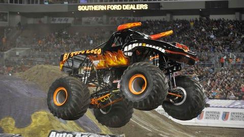 Monster Jam racing in Tampa, FL: El Toro Loco®