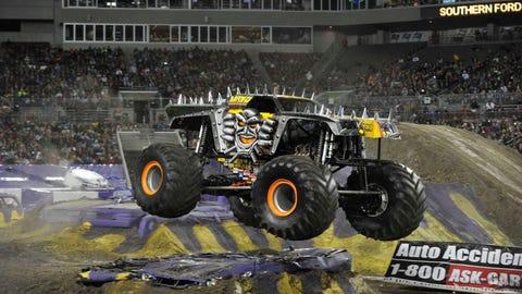 Monster Jam racing in Tampa, FL: Max-D (SM)