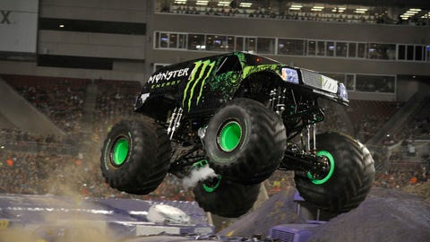 Monster Jam racing in Tampa, FL: Monster Energy