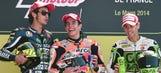 Video: MotoGP Le Mans podium all wrecked in Mugello last year