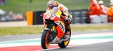 Marquez fastest on rain-filled Friday at Mugello Circuit