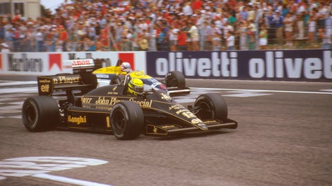 Photos: Senna's F1 cars through the years