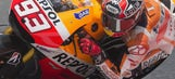 Marquez wins seventh in a row after incredible on-track battle