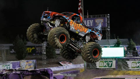 Monster Jam World Finals XV in Las Vegas: Barbarian