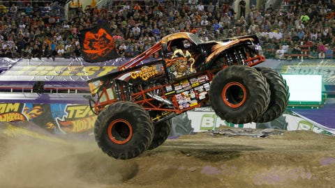 Monster Jam World Finals XV in Las Vegas: Captain's Curse