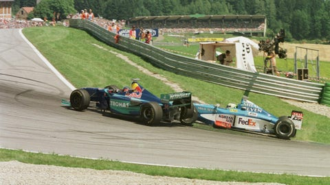 Photos: Historic moments from the Austrian GP