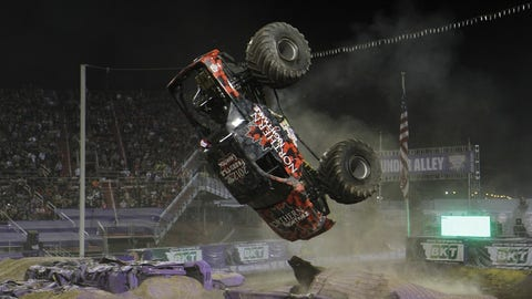 Photos: Monster Jam freestyle action from Las Vegas