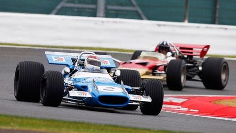 50th Grand Prix Parade at Silverstone