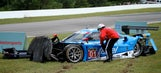 Rojas crashes Ganassi Riley-Ford on recon lap at Mosport
