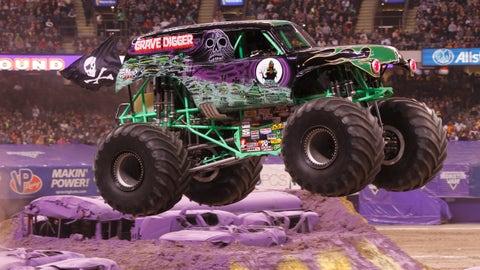 Photos: Monster Jam racing - St. Louis