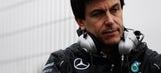 F1: Mercedes chief breaks bones in biking crash