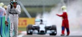 F1: Hamilton's bad luck continues with qualifying fire
