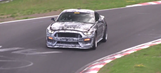 2016 Ford Mustang SVT spied testing on the Nurburgring (Video)