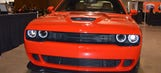 707-horsepower Dodge Challenger SRT Hellcat on display at Barrett-Jackson (Photos)