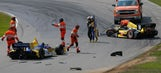 IndyCar: Dixon avoids early drama at Mid-Ohio to win from behind (VIDEO)