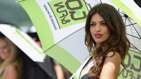 Glamorous grid girls of MotoGP