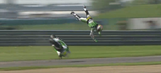 MotoGP: Bautista highsides in Indy GP practice (VIDEO)