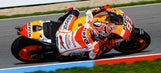 Marquez tops MotoGP timesheets on opening day at Brno