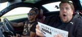 Comedian attempts to interview F1's Hamilton during flying lap
