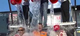 Stars of Formula One and IndyCar take on ice bucket challenge