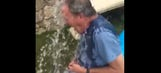 Jeremy Clarkson takes ice bucket challenge … involuntarily