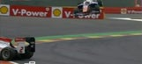 Watch as GP3 driver escapes injury after airborne crash in Spa