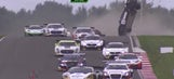 Driver OK after lambo flips end-over-end during endurance race