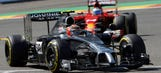 F1: Magnussen penalized, loses sixth place after Belgian GP