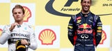 F1: Ricciardo wins; Rosberg booed after clashes with teammate in Spa
