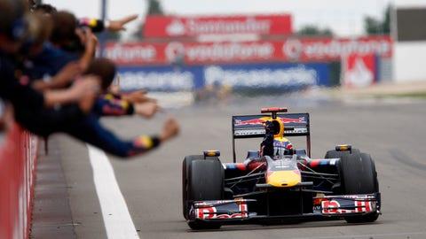 Mark Webber's racing career