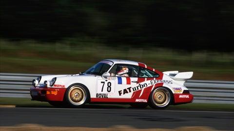 Evolution of the Porsche 911 at Le Mans