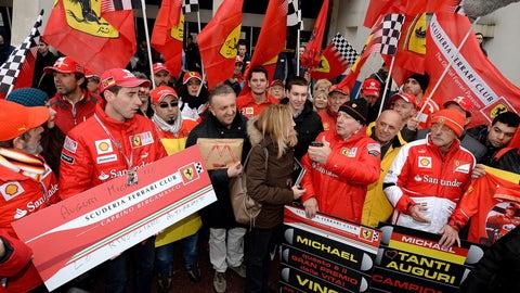 Schumacher tributes through 2014