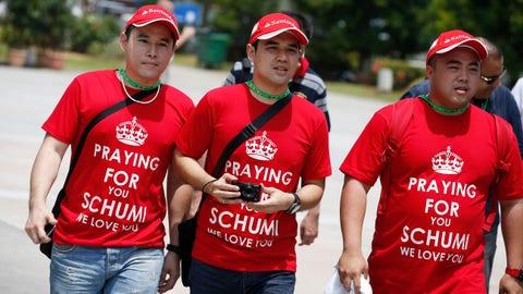 F1: Schumacher tributes through 2014