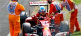 Ferrari's fall in F1 causing corporate concern