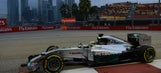 Hamilton strikes first in Singapore, tops Friday practice