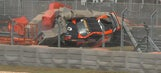 Brake failure leads to high speed crash at COTA (VIDEO)