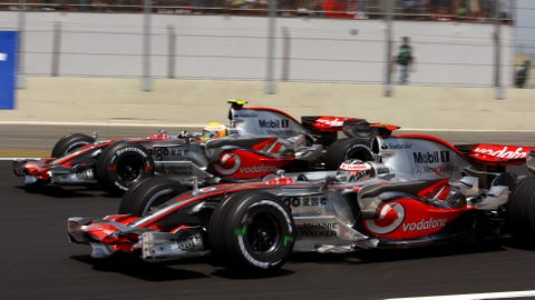 F1: Evolution of McLaren