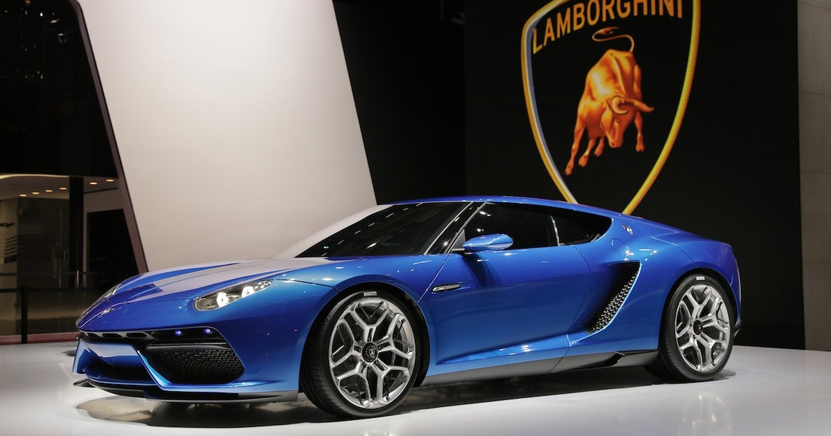 Lamborghini Unveils 910 Horsepower Electric Supercar At Paris Auto