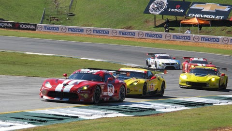 Hot pass: Photos from the 2014 Petit Le Mans
