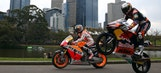 MotoGP: Pedrosa and Miller ride Melbourne's Capital City Trail to Phillip Island