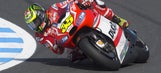 MotoGP: Crutchlow earns first front-row start for Ducati