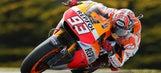 MotoGP champion Marquez on pole for Australian Grand Prix