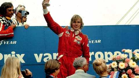 James Hunt: 10 wins
