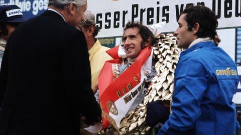 Sir Jackie Stewart: 27 wins