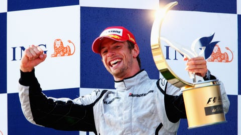 Jenson Button: 15 wins