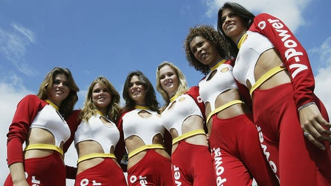 Grid girls of Interlagos