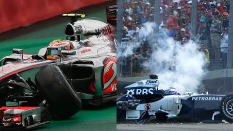 DUDS: Mercedes teammates